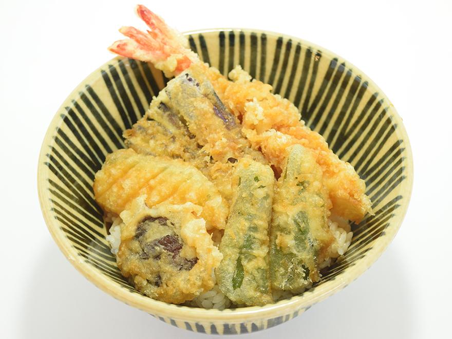 高原野菜天丼